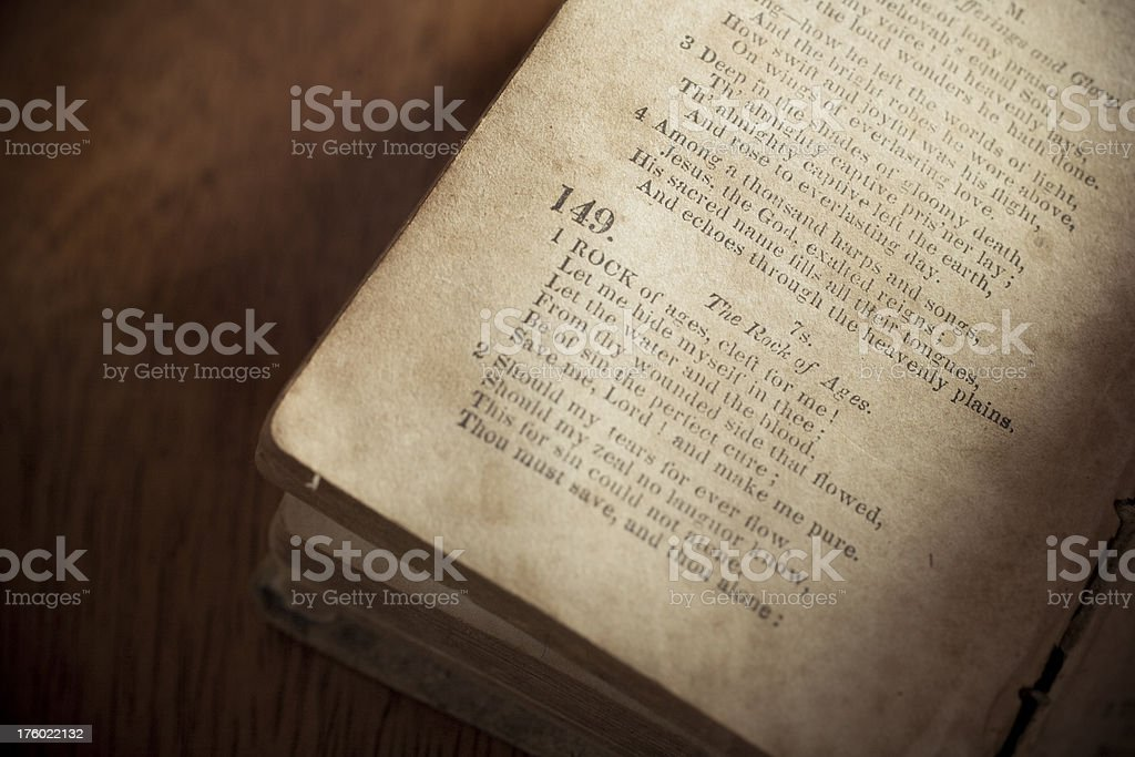 Rock of Ages royalty-free stock photo
