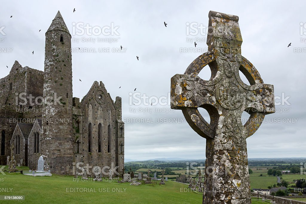 Rock of Cashel - County Tipperary - Republic of Ireland stock photo