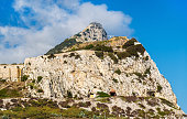 Rock of Gibraltar seen from Europa Point