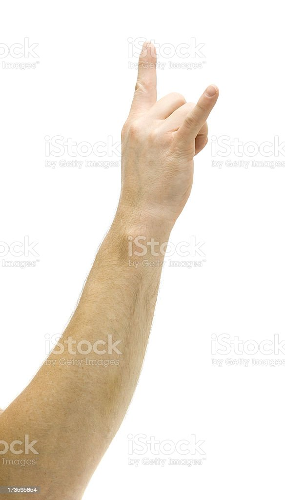 Rock On Gesture stock photo