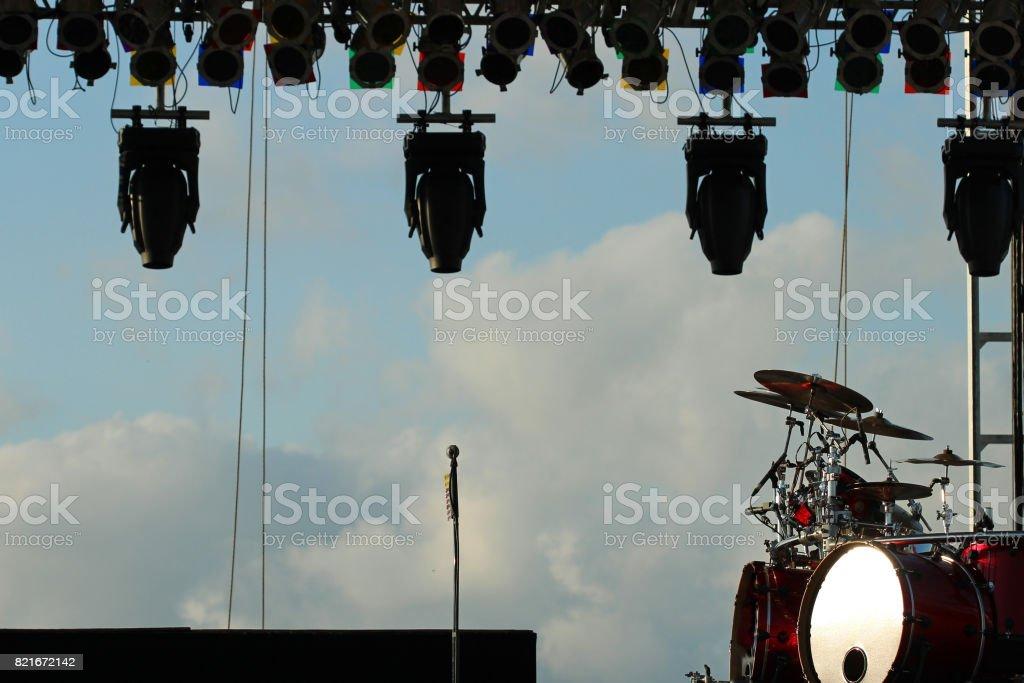 Rock on stock photo