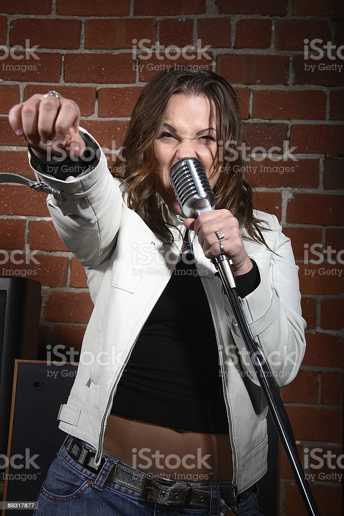 Rock On! royalty-free stock photo