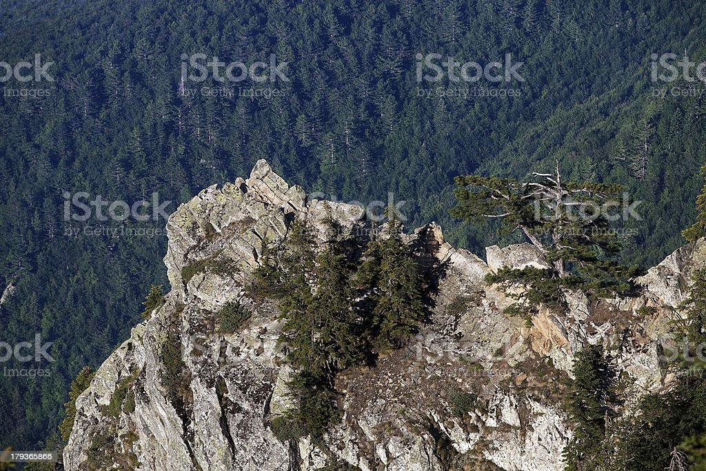 Rock On The Mountain royalty-free stock photo