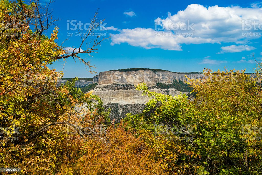 Rock opposite. stock photo