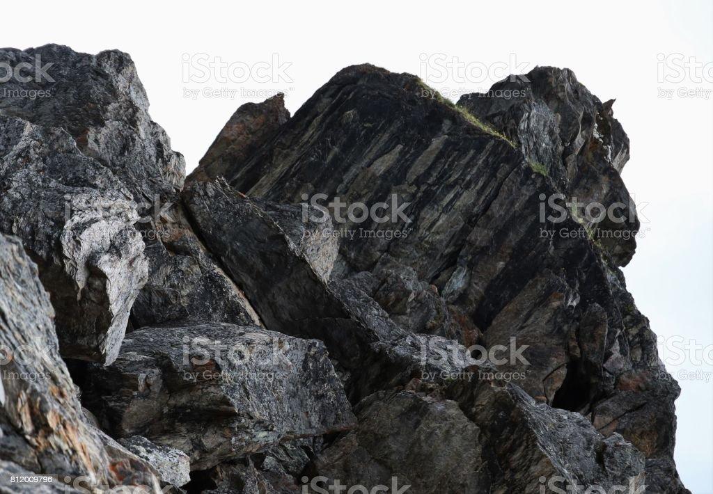 Rock Outcrop stock photo