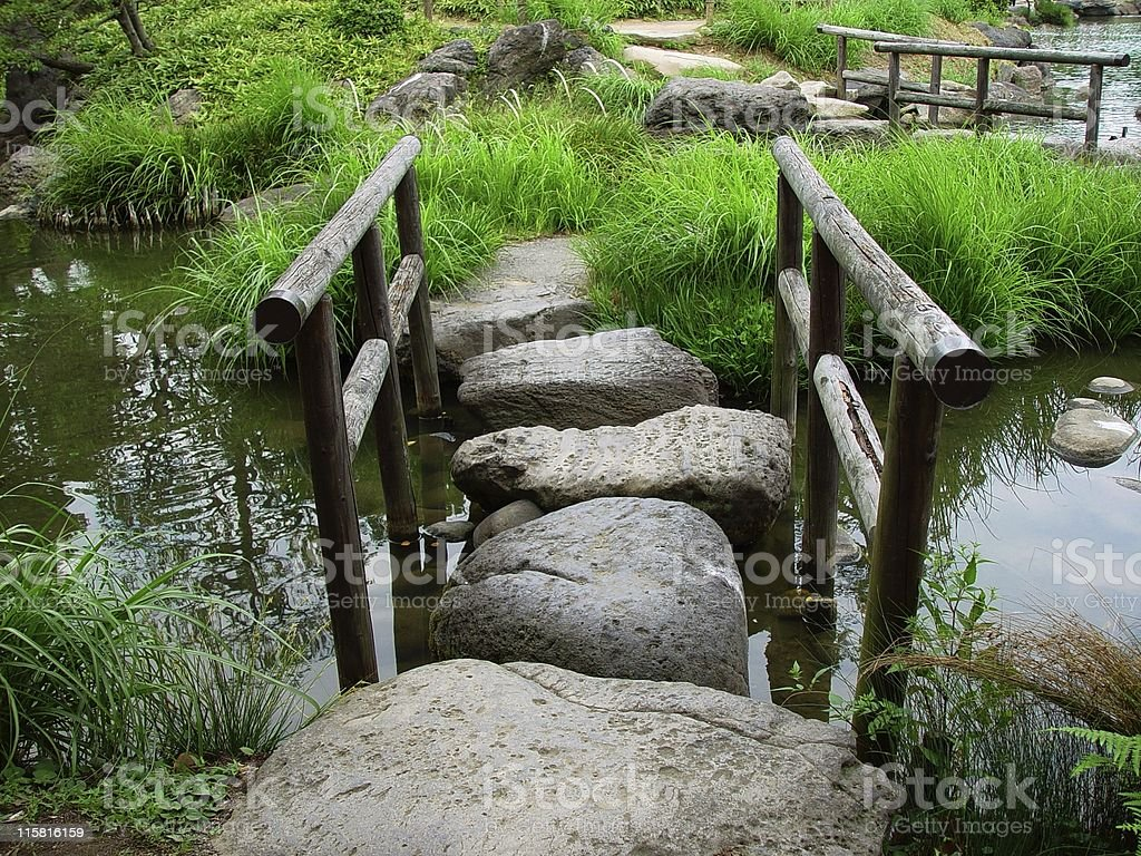 Rock Path royalty-free stock photo