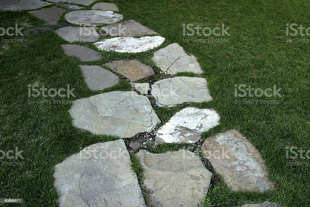 Rock Path royalty-free stock photo