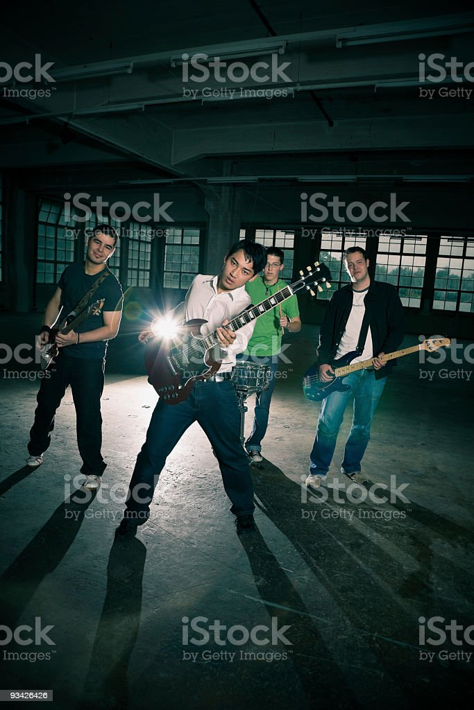 rock performance royalty-free stock photo