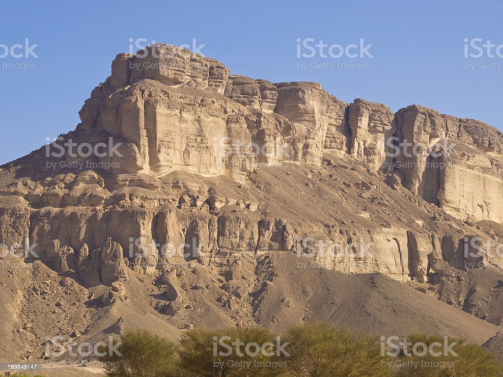 Rock Plateau royalty-free stock photo