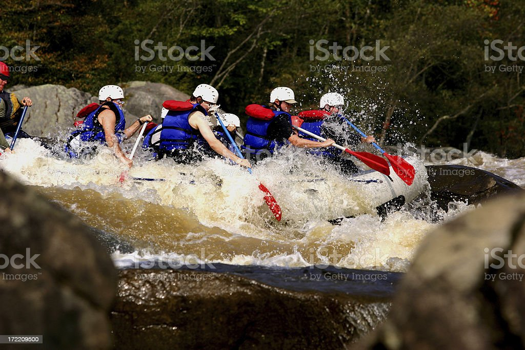 Rock Raft royalty-free stock photo