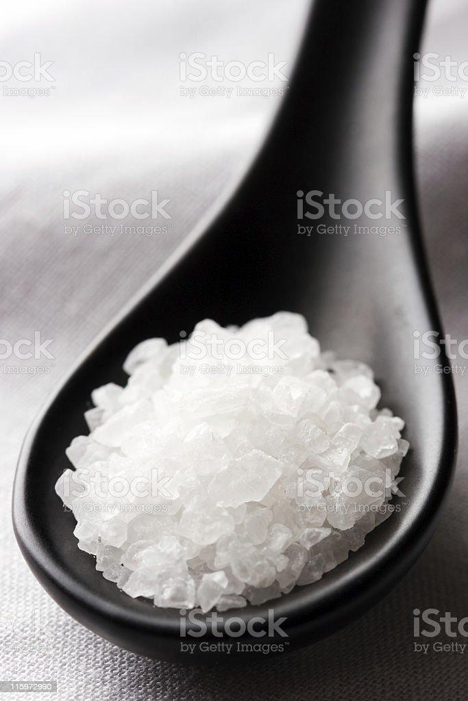 Rock salt. stock photo