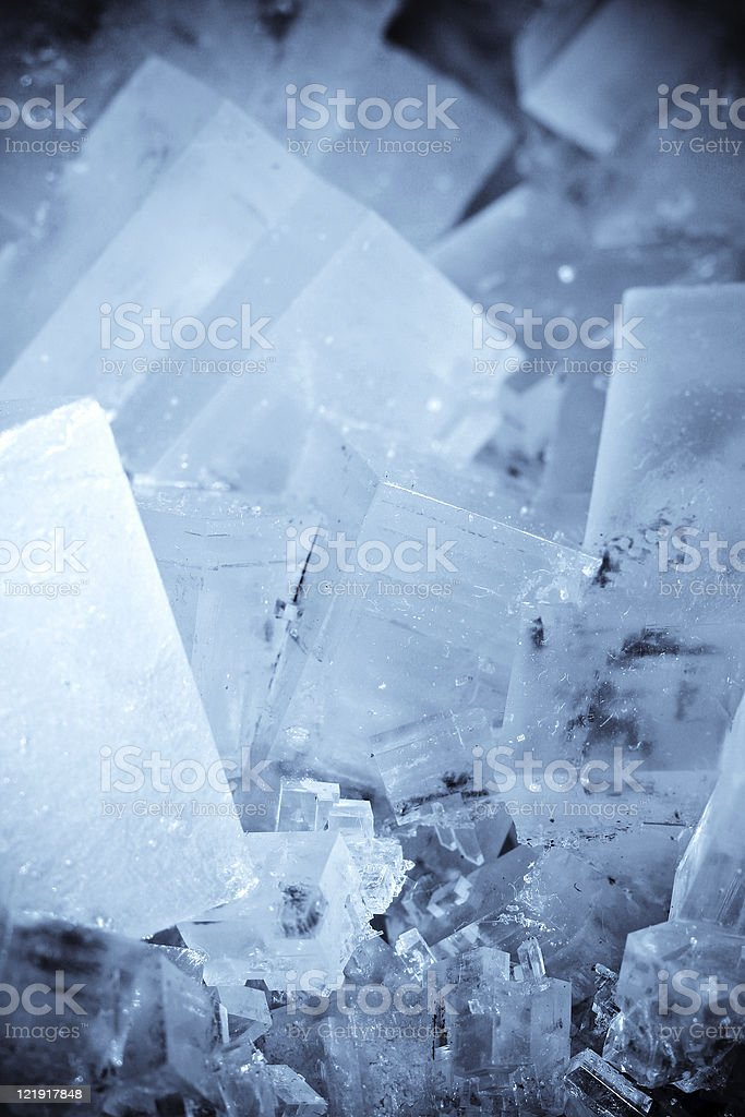 Rock Salt stock photo