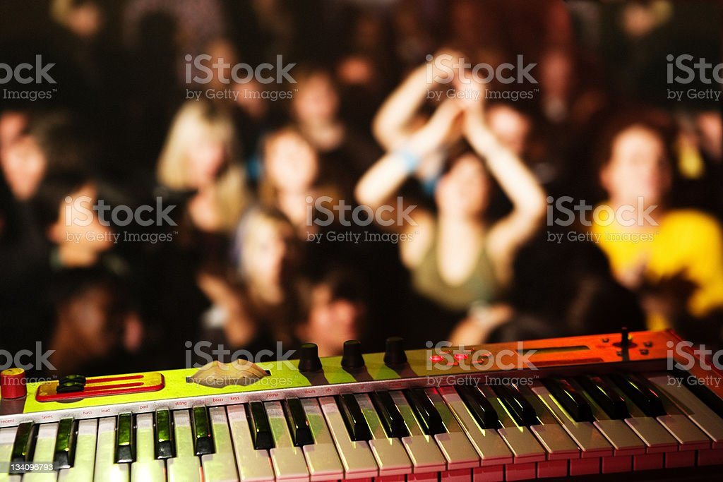 Rock show royalty-free stock photo