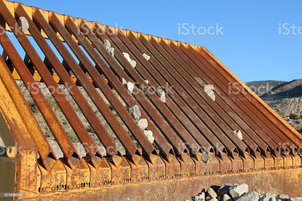 Rock Sifter 2 stock photo