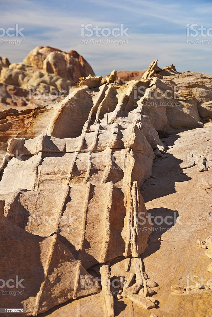 Rock Spines royalty-free stock photo