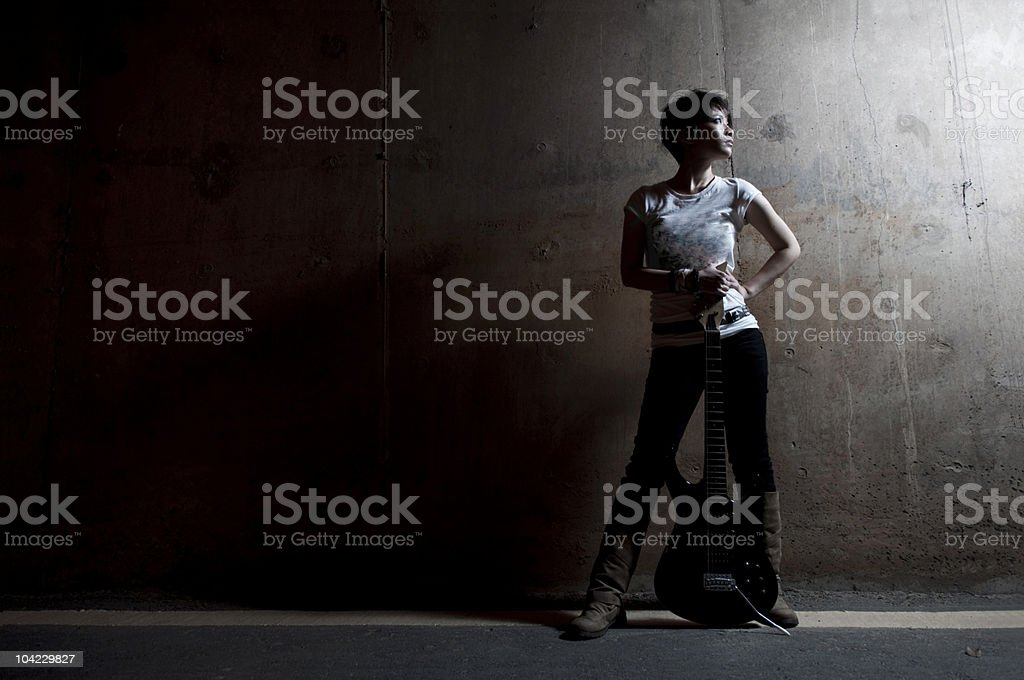 rock star stock photo