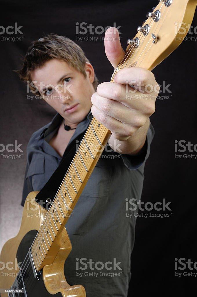 Rock Star royalty-free stock photo