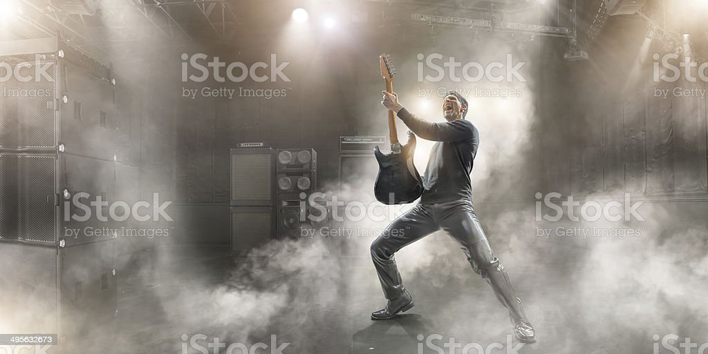 Rock Star stock photo