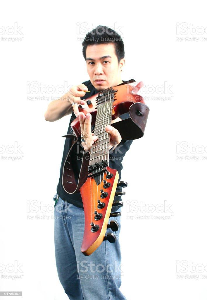 Rock Star Lizenzfreies stock-foto
