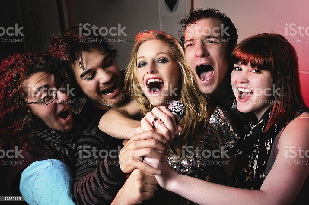 Rock Star series stock photo
