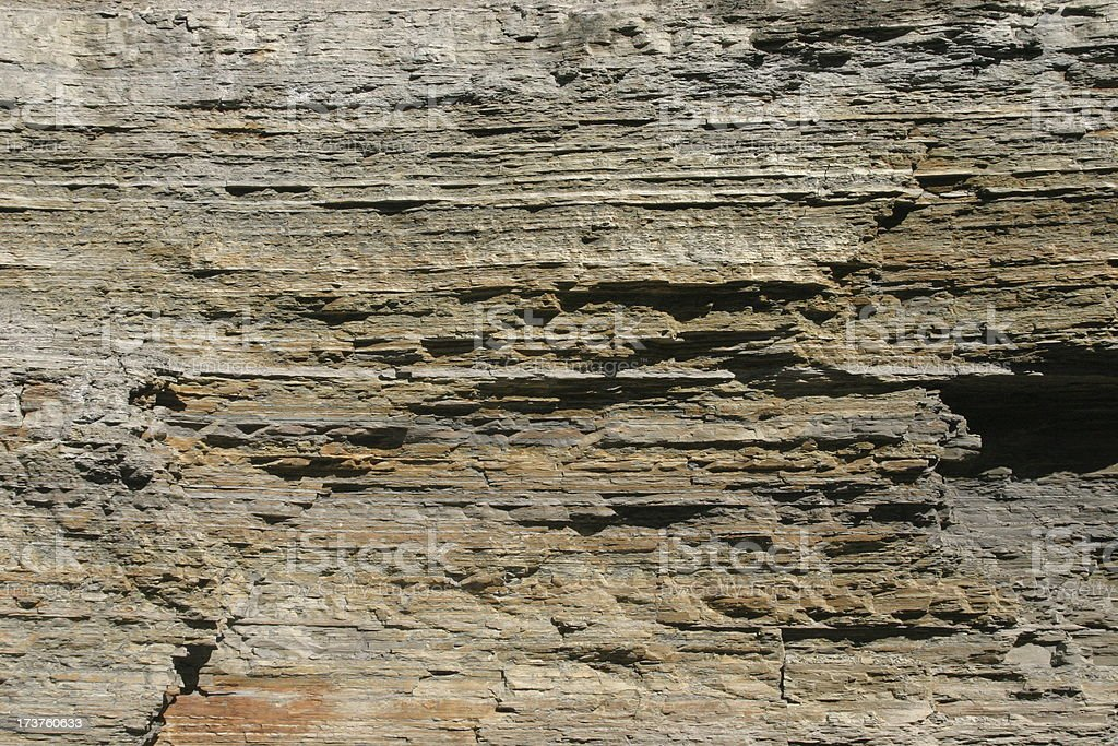 Rock Strata stock photo