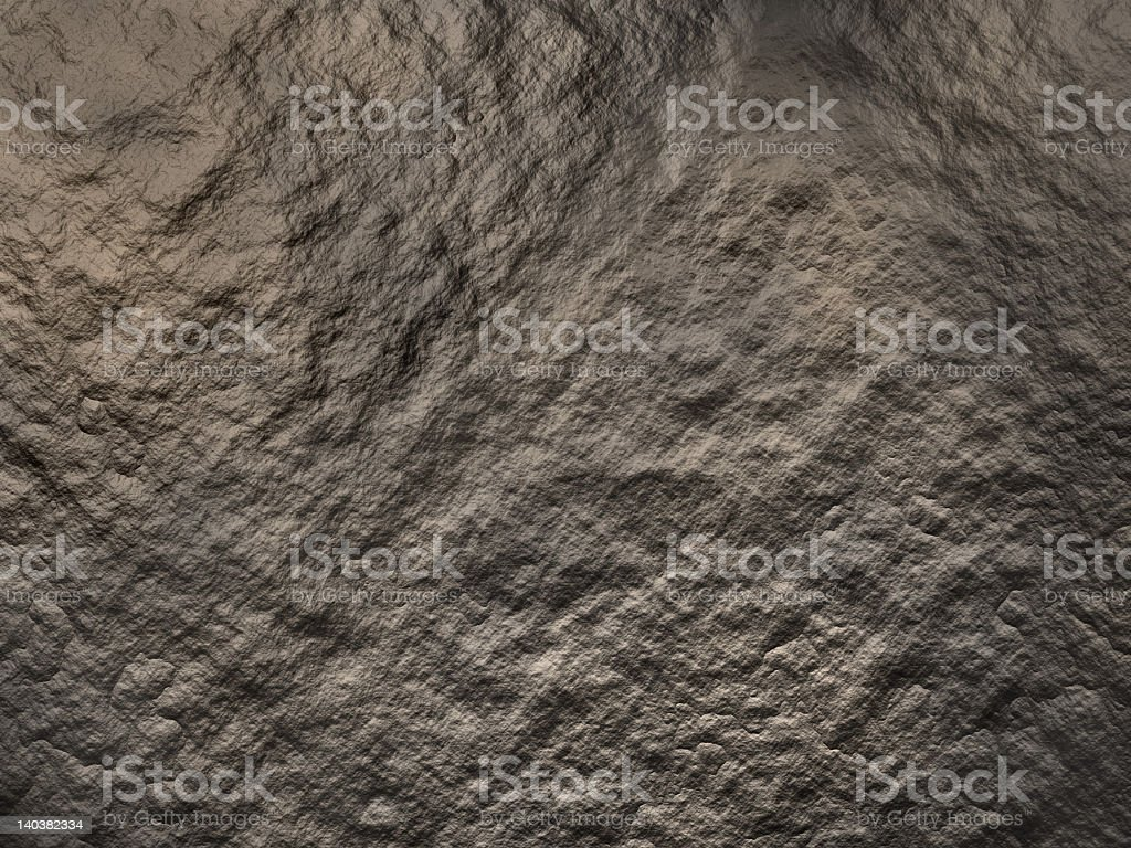 Rock surface with bumps and ripples royalty-free stock photo
