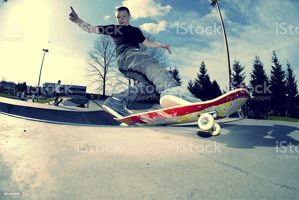FS Rock to Fakie royalty-free stock photo