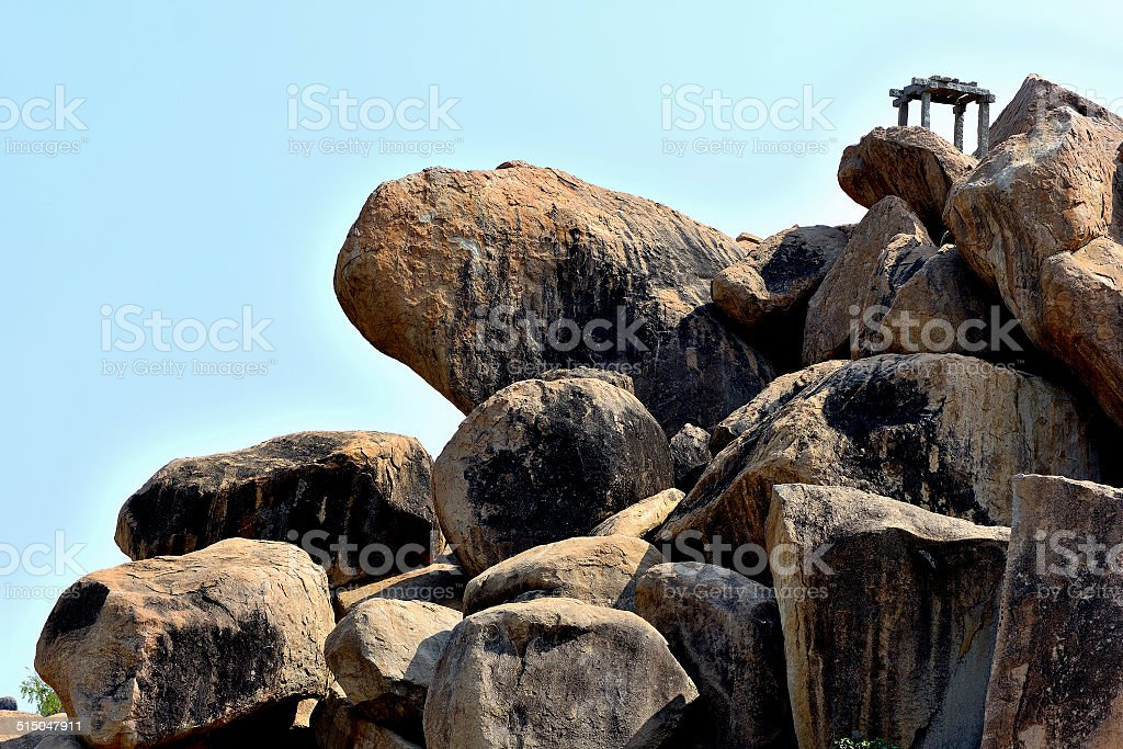 Rock Top View Point royalty-free stock photo
