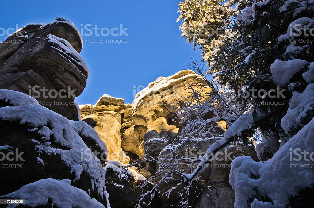Rock Town - Czech Republic stock photo