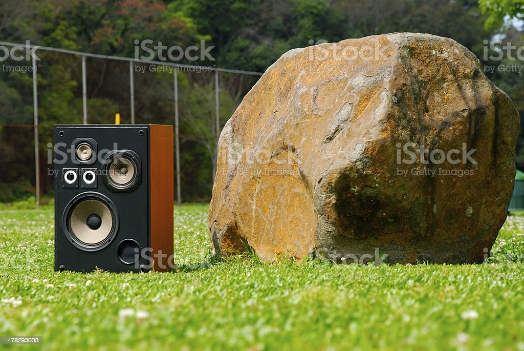 rock two royalty-free stock photo