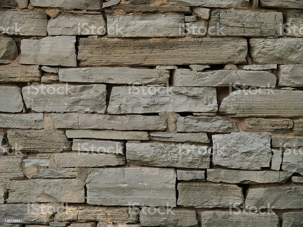 Rock wall detail stock photo