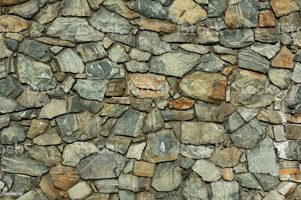 Rock wall portrait stock photo