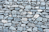 Rock wall seamless texture and background