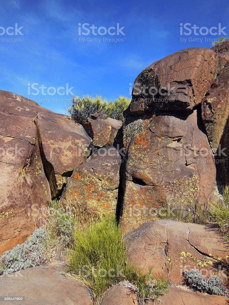 Rock Walls stock photo