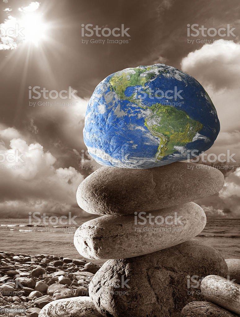 Rock world royalty-free stock photo