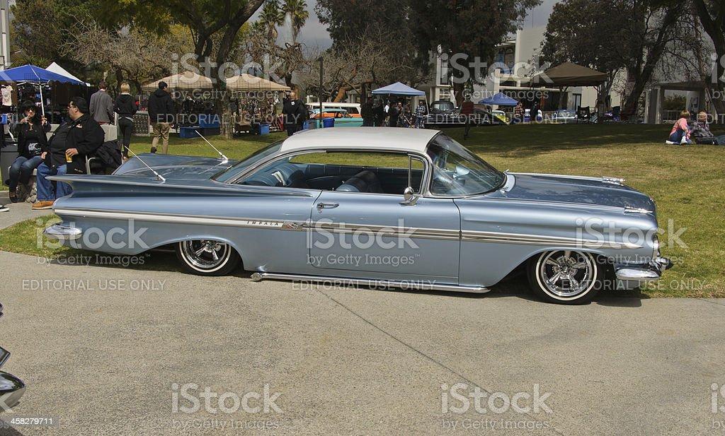 RockaBilly Festival 6: 1959 Chevrolet Impala Coupe stock photo