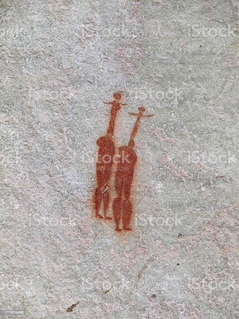 Rockart royalty-free stock photo