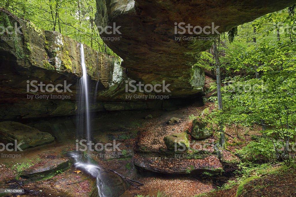 Rockbridge nel Hocking colline di Ohio foto stock royalty-free