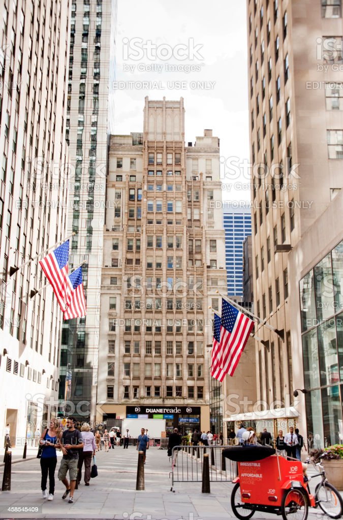 Rockefeller Center royalty-free stock photo