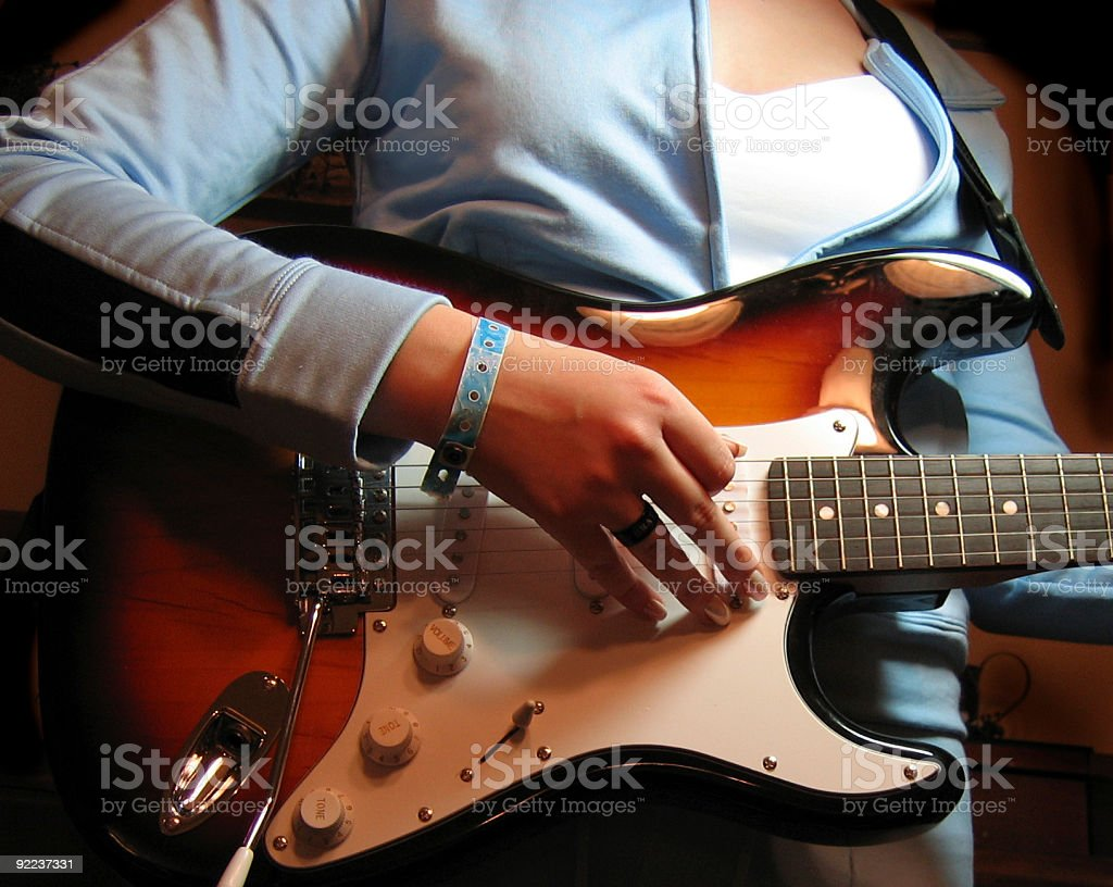 Rocker Brat stock photo