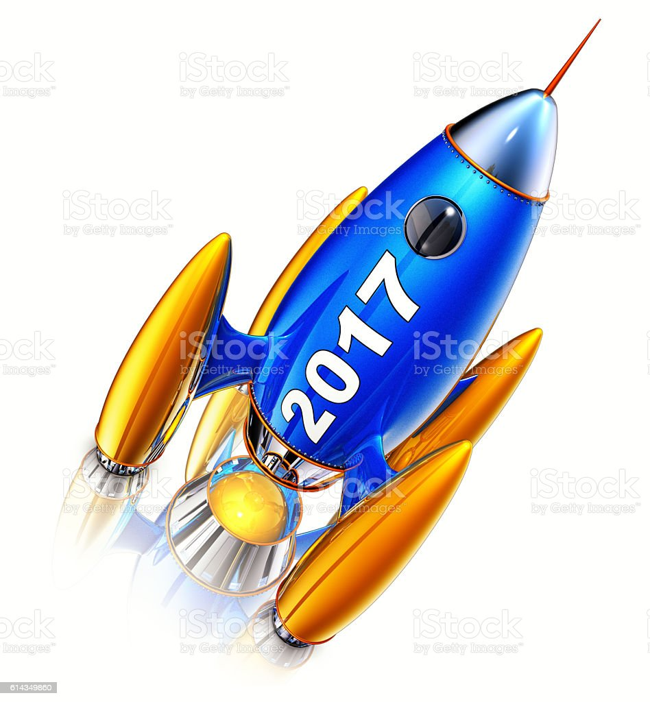 rocket 2017 stock photo