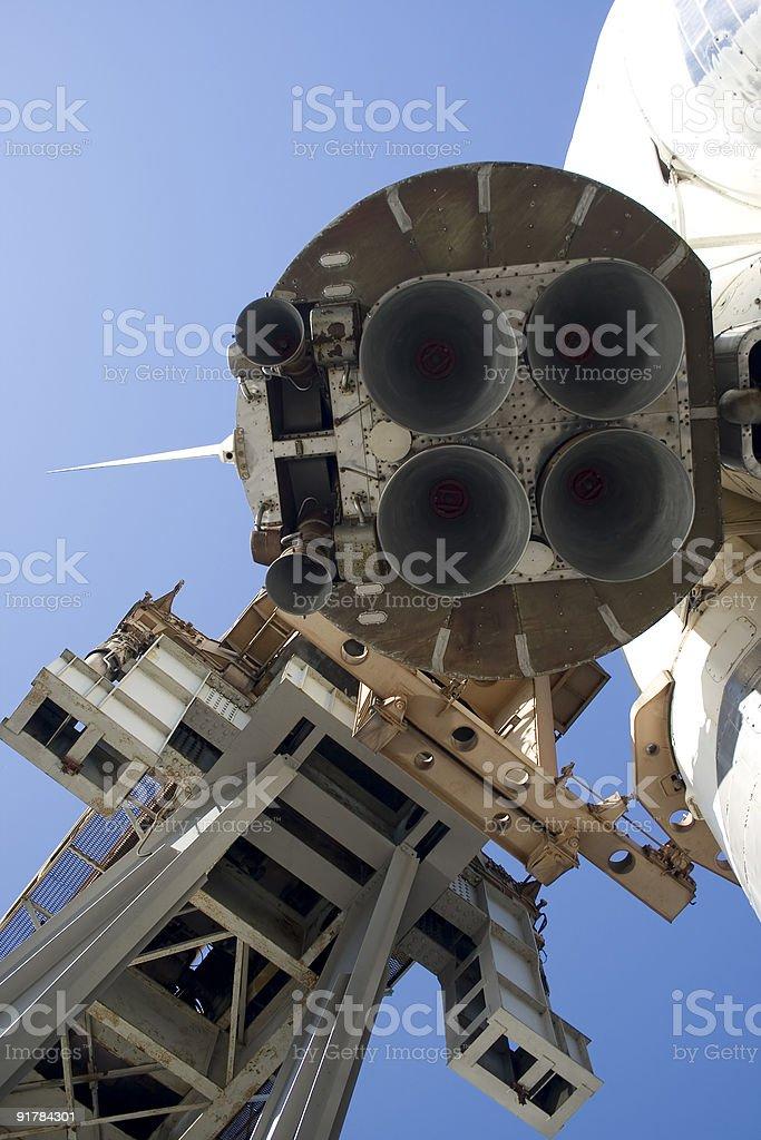 Rocket 5 stock photo