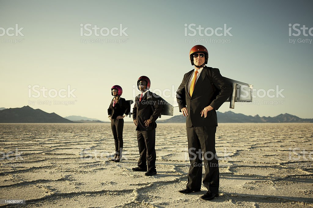 Rocket Business royalty-free stock photo