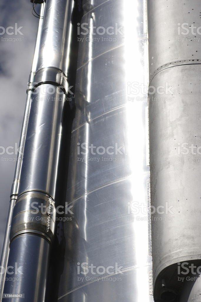 Rocket Detail stock photo