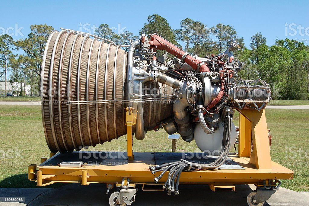 Rocket Engine royalty-free stock photo