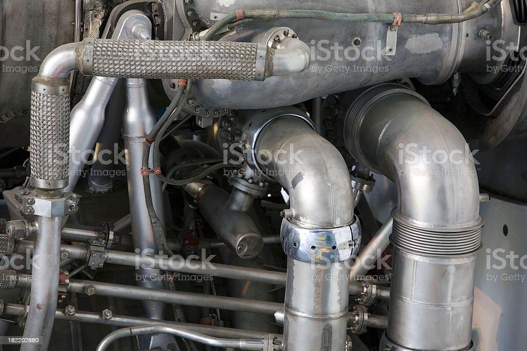 Rocket Engine stock photo