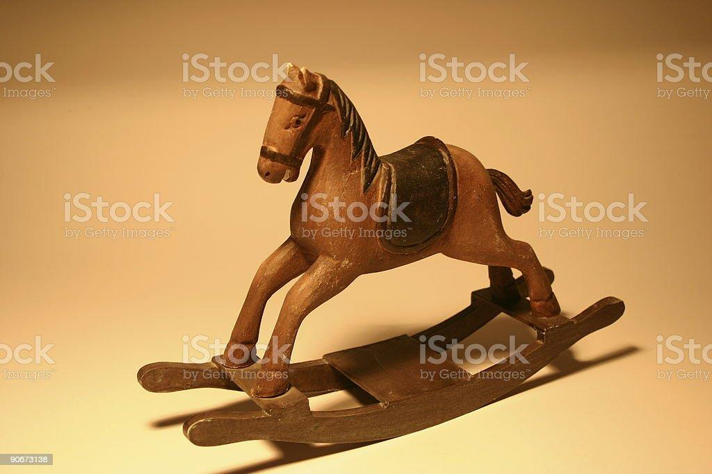 Rocket Horse royalty-free stock photo