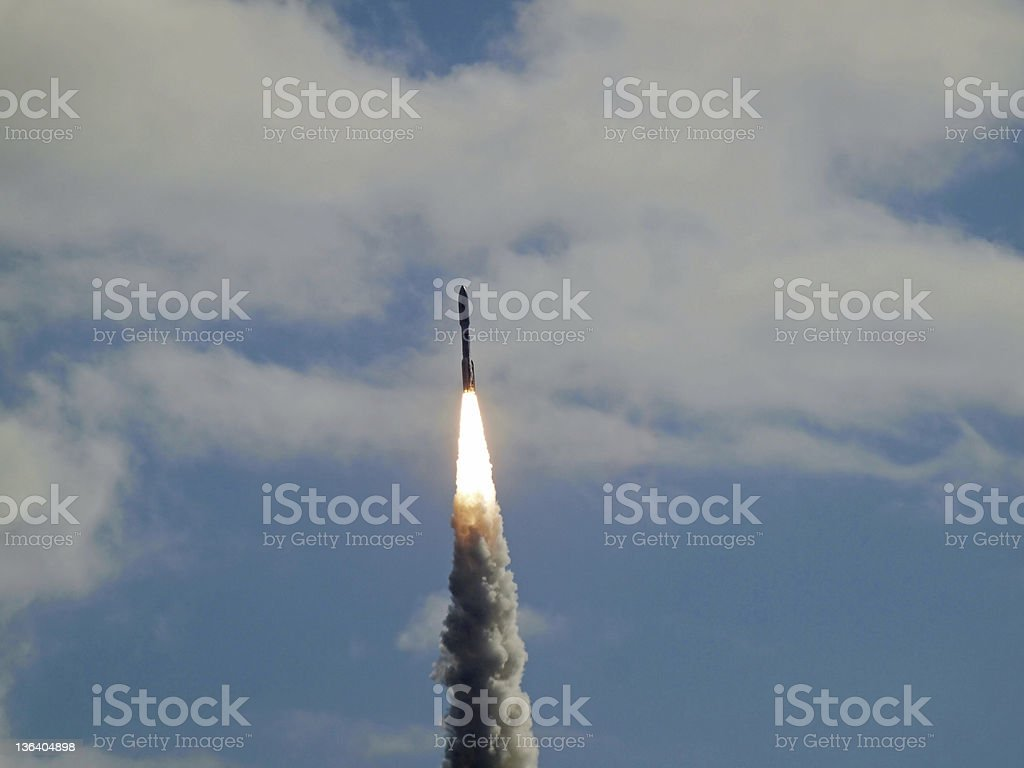 Rocket Launch royalty-free stock photo
