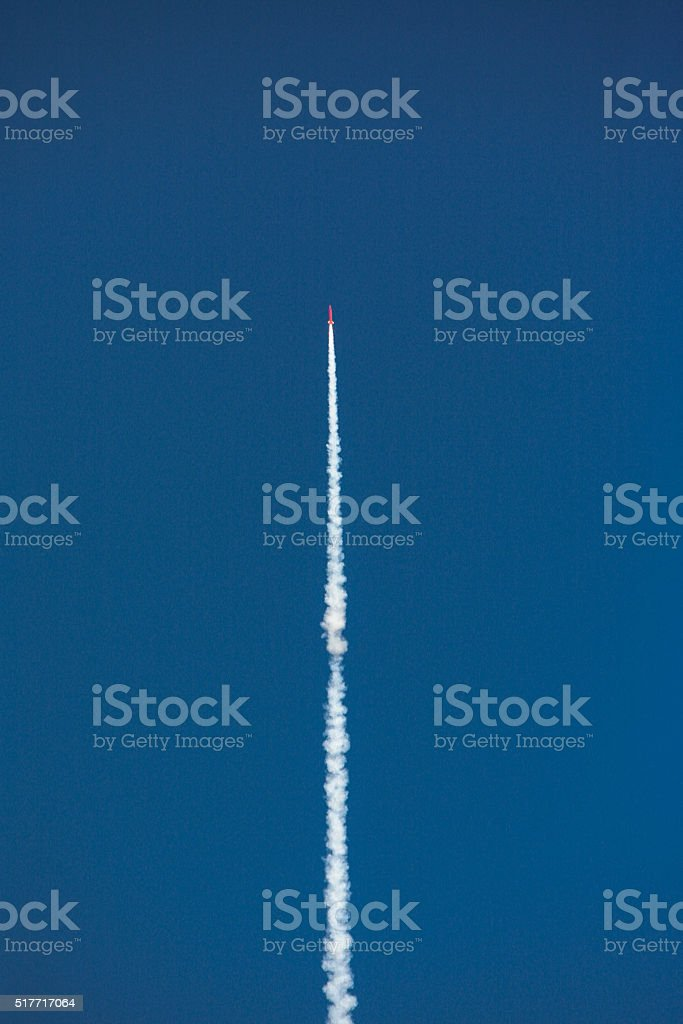 Rocket Missile Launch stock photo