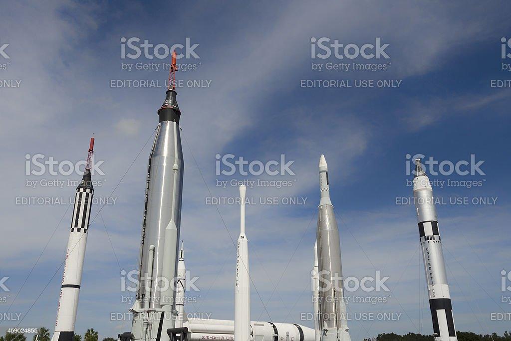 Rocket Park royalty-free stock photo